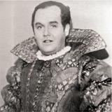 Jussi i rollen som hertigen av Mantua i Verdis Rigoletto, Köpenhamn 1942.